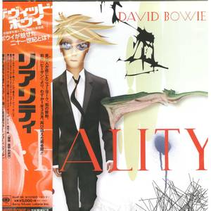 David Bowie - Reality LP Japanese Edition