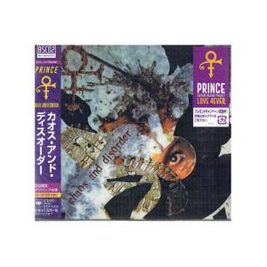 Prince - Chaos And Disorder LP Japanese Edition