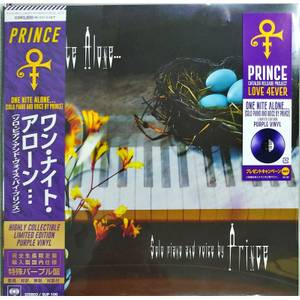 Prince - One Nite Alone... (Solo Piano And Voice By Prince) LP Japanese Edition
