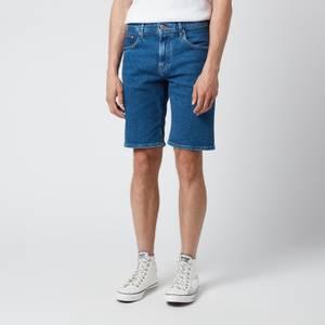 Tommy Hilfiger Men's Brooklyn 5 Pocket Denim Shorts - Remo Indigo