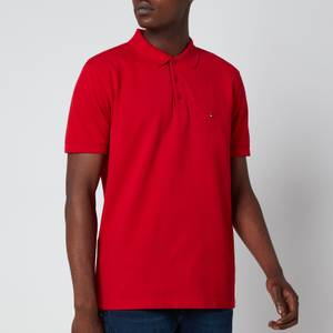 Tommy Hilfiger Men's Contrast Placket Polo Shirt - Primary Red
