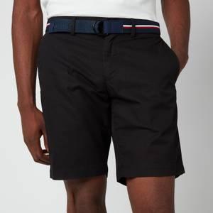 Tommy Hilfiger Men's Brooklyn Light Twill Shorts - Black