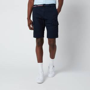 Tommy Hilfiger Men's John Cargo Shorts with Belt - Desert Sky