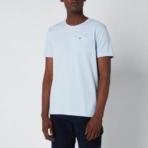Tommy Hilfiger Men's Classic Pocket T-Shirt - Breezy Blue