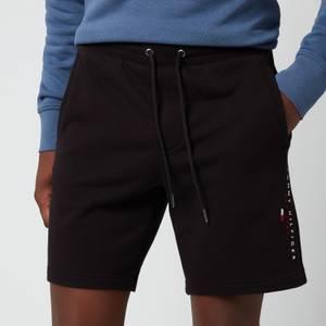 Tommy Hilfiger Men's Essential Sweat Shorts - Black