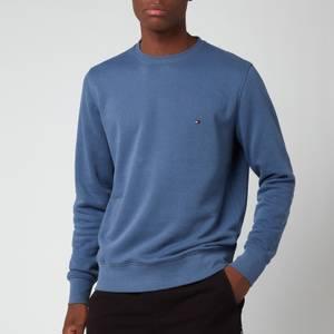 Tommy Hilfiger Men's Logo Crew Sweatshirt - Faded Indigo