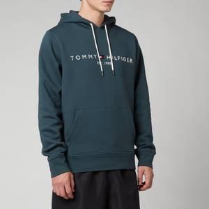 Tommy Hilfiger Men's Logo Hoodie - Mystic Lake