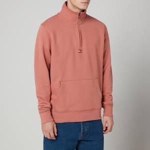 Tommy Hilfiger Men's Recycled Cotton Mock Neck Sweatshirt - Mineralize