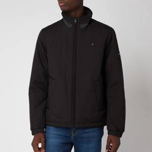 Tommy Hilfiger Men's Padded Stand Collar Jacket - Black
