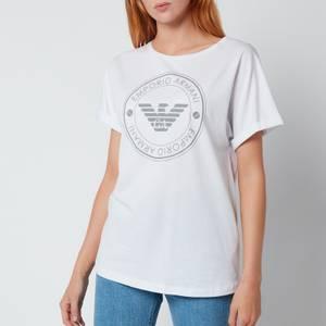 Emporio Armani Loungewear Women's Cotton T-Shirt - White