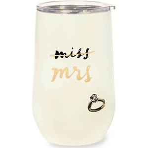 Kate Spade New York Bridal Stainless Steel Tumbler - Miss to Mrs