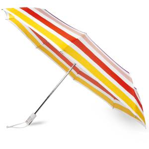 Kate Spade New York Travel Umbrella - Candy Stripe
