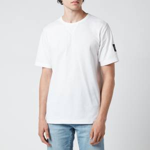 Calvin Klein Jeans Men's Organic Cotton Badge T-Shirt - White