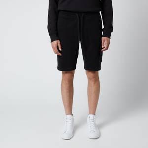 Calvin Klein Jeans Men's Organic Cotton Jogger Shorts - Black