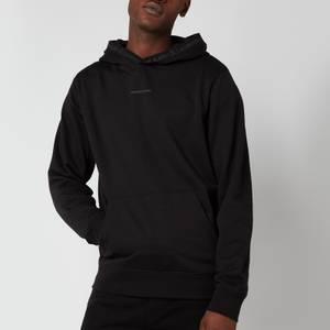 Calvin Klein Jeans Men's Organic Cotton Logo Trim Hoodie - Black