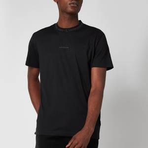 Calvin Klein Jeans Men's Organic Cotton Logo Collar T-Shirt - Black