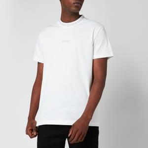 Calvin Klein Jeans Men's Organic Cotton Logo Collar T-Shirt - White