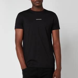 Calvin Klein Jeans Men's Slim Organic Cotton T-Shirt - Black