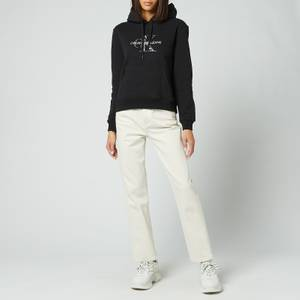Calvin Klein Jeans Women's Reptile Monogram Hoodie - CK Black