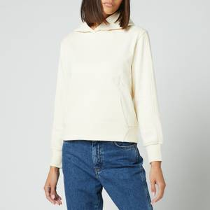 Calvin Klein Jeans Women's Off Placed Monogram Hoodie - Muslin