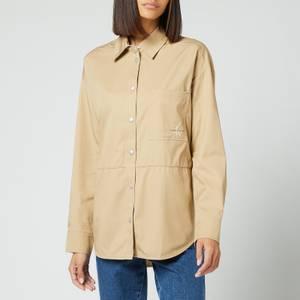 Calvin Klein Jeans Women's Overshirt - Traverine