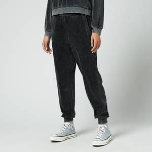 Calvin Klein Jeans Women's Wash Velvet Pants - CK Black