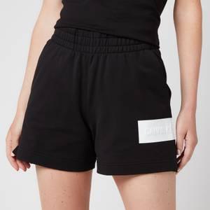 Calvin Klein Jeans Women's Hero Logo Knitted Shorts - CK Black/Bright White