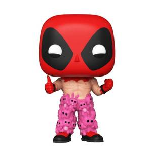 Marvel Deadpool in Teddy Bear Pants EXC Funko Pop! Vinyl