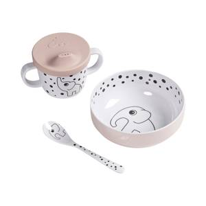 Done By Deer Happy Dots First Meal Set - Powder