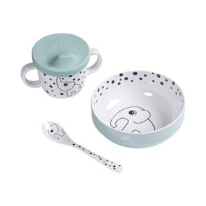 Done By Deer Happy Dots First Meal Set - Blue