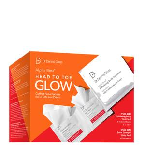 Dr Dennis Gross Head to Toe Glow Kit