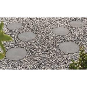 Stylish Stone 300mm Graphite Stepping Stone