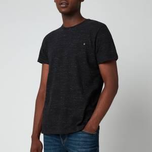 Superdry Men's Orange Label Vintage T-Shirt - Vast Black Space Dye