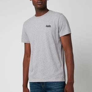 Superdry Men's Orange Label Vintage T-Shirt - Coastal Pink Grit