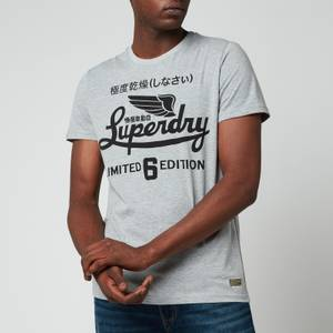 Superdry Men's Military Graphic T-Shirt - Grey Marl