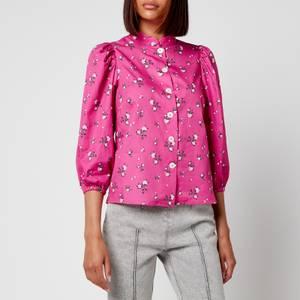Kitri Women's Mabel Floral Top - Pink Floral