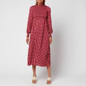 Kitri Women's Molly Check Dress - Pink