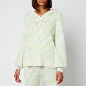 Kitri Women's Jordana Knitted Hoodie - Mint