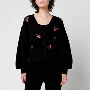Kitri Women's Beth Knitted Cardigan - Black