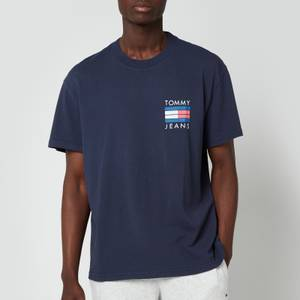 Tommy Jeans Men's Palm Tree Graphic T-Shirt - Twilight Navy