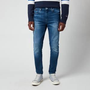 Tommy Jeans Men's Austin Slim Tapered Jeans - Denim Dark