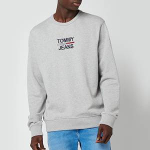 Tommy Jeans Men's Essential Crew Sweat - Light Grey Heather