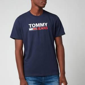 Tommy Jeans Men's Corp Logo T-Shirt - Twilight Navy