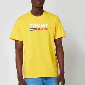Tommy Jeans Men's Corp Logo T-Shirt - Pollen