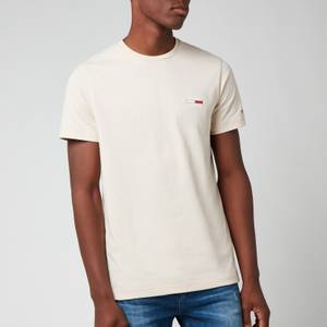 Tommy Jeans Men's Chest Logo T-Shirt - Smooth Stone