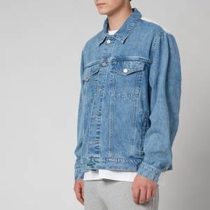 Tommy Jeans Men's Oversized Trucker Jacket - Denim Light