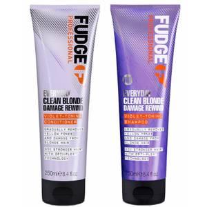 Everyday Clean Blonde Damage Rewind Shampoo and Conditioner 250ml