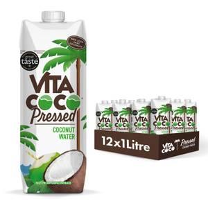Eau de coco pressée, 1 litre (12 unités)