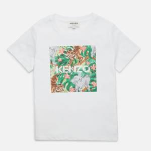 KENZO Girls' Lizie T-Shirt - Optic White