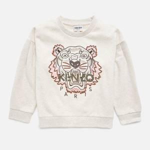 KENZO Girls' Tiger Sweatshirt - Marl Beige